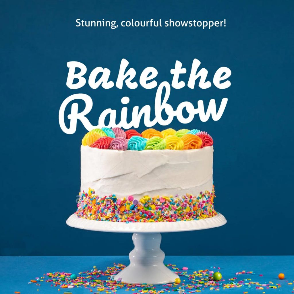 bake the Rainbow challenge