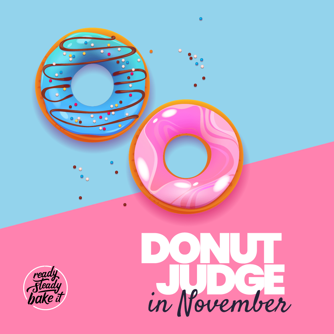 Donut Judge themed month